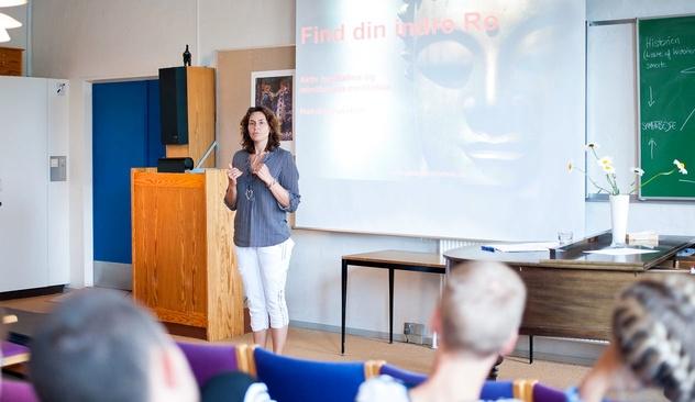 Foredrag om aktiv meditation og mindfulness